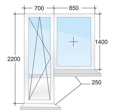 Балконный блок № 4