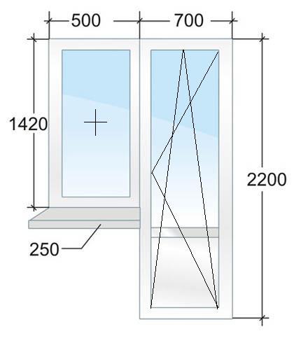 Балконный блок № 3