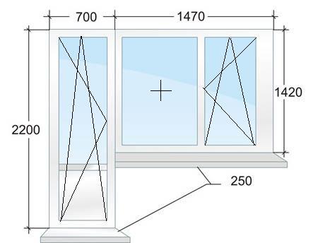 Балконный блок № 5