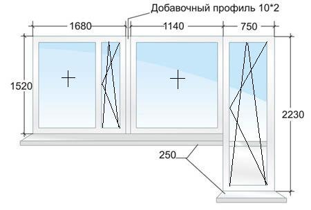 Балконный блок № 2